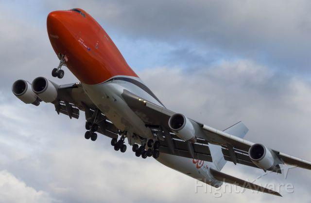Boeing 747-400 (OO-THB)