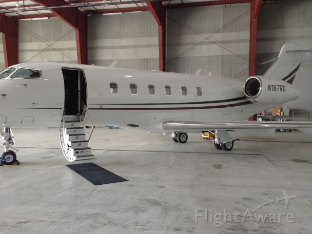 Bombardier Challenger 300 (N167RD) - New 2012 Bombardier Challenger 300.  Owned by RDO Equipment.