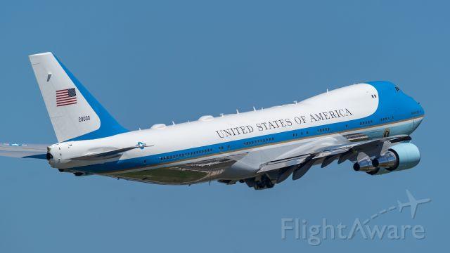Boeing 747-200 (92-9000) - 4/10/19