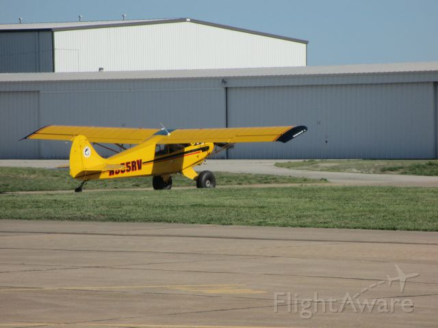 CHRISTEN Husky (N955RV) - N955RV,a 2006 AVIAT AIRCRAFT INC A-1B,on taxi back to the hangar after another successful flight on May3,2014.At Joplin,MO