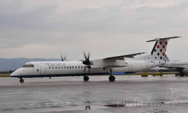 de Havilland Dash 8-200 (9A-CQC) - Croatia Airlines De Havilland Canada DHC-8-402Q Dash 8 9A-CQC in Zagreb