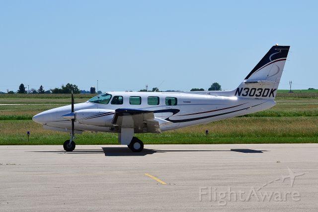 Cessna T303 Crusader (N303DK) - 6-12-2020