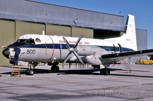 Beechcraft Baron (58) (N15709) - AUSTRALIA - NAVY - HAWKER SIDDELEY HS-748 SRS 2/268 - REG : N15-709 (CN 1709) - NOWRA NSW. AUSTRALIA - YSNW (30/6/1988)
