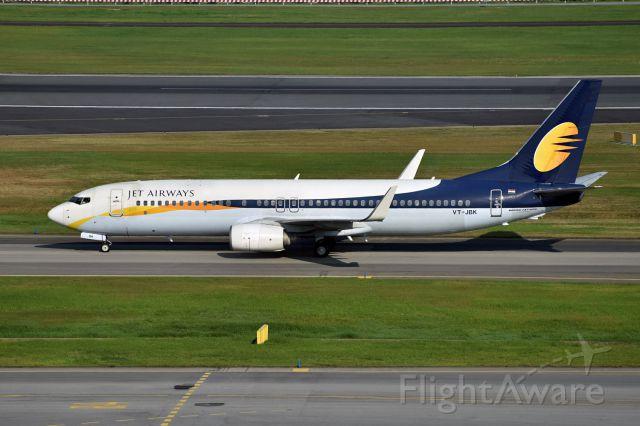 photo of jai boeing 737-800 (vt-jbk) ✈ flightaware
