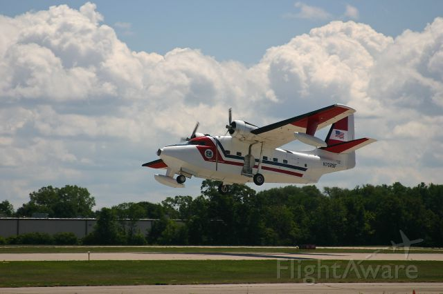 N7029F — - HU-16 taking off at the EAA Fly In 7-29-2005
