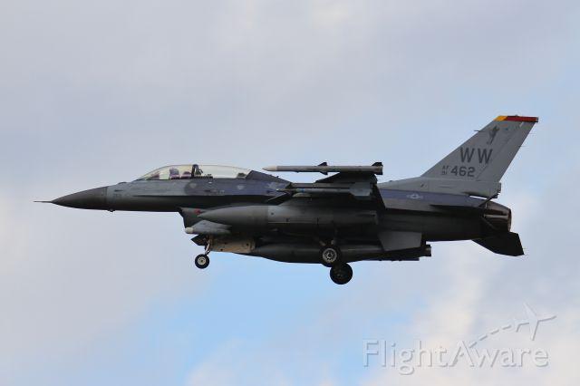 Lockheed F-16 Fighting Falcon (91-0462)