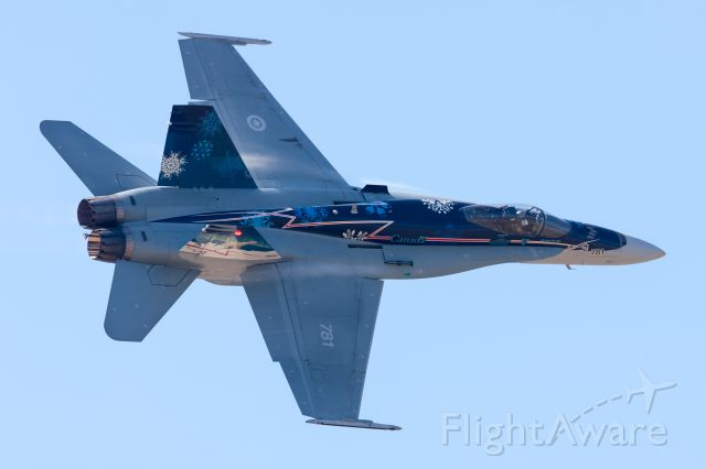 McDonnell Douglas FA-18 Hornet (N781) - Canadian CF-18 demo plane at the 2012 Abbotsford Airshow.