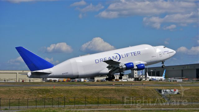 Boeing 747-400 (N747BC) - GTI4516 on rotation from Rwy 16R for a flight to RJGG / NGO on 8/7/14. (LN:904 / cn 25879).