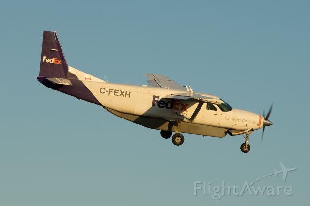 Cessna Caravan (C-FEXH) - Cessna 208B Caravan approaching 23R at Pearson Intl.
