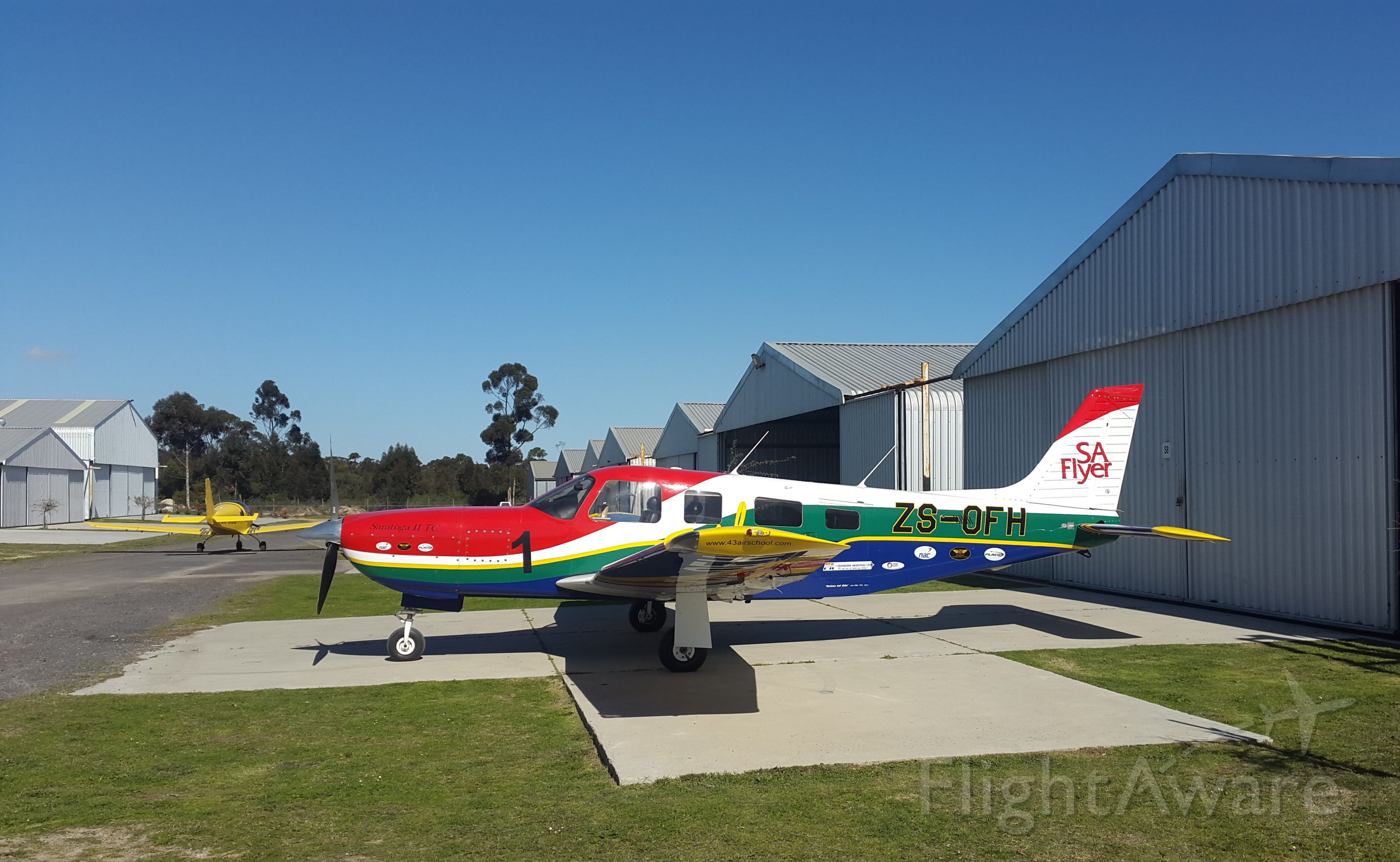 Piper Saratoga/Lance (ZU-OFH) - Morningstar Airfield, Cape of Good Hope, South Africa