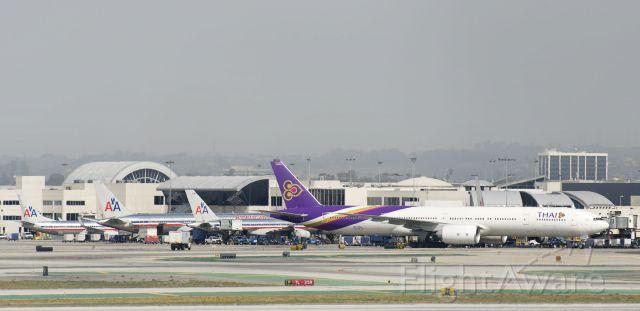 BOEING 777-300 (HS-TKL) - HS-TKL  Boeing  B777-3AL(ER)  THA  KLAX  20130305