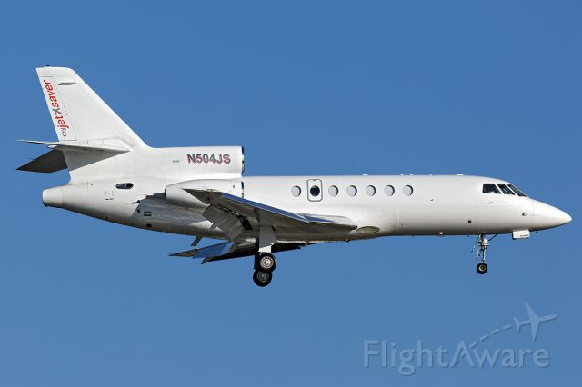 Dassault Falcon 50 (N504JS)