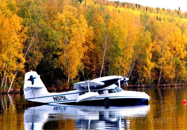 Grumman G-44 Widgeon (N575L) - Healy Lake, Alaska  in September