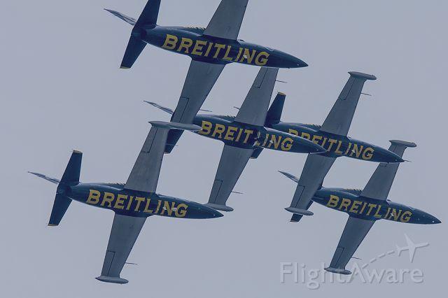 Aero L-39 Albatros — - The Breitling Jet Team, JAPAN TOUR in KOBE.  #1 #8 #7 #5 #3<br>May 6, 2013