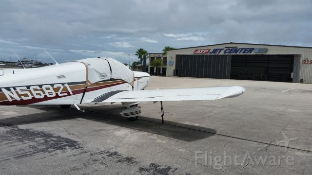 Piper Cherokee (N56821) - Stopped in for a visit to Daytona Beach.