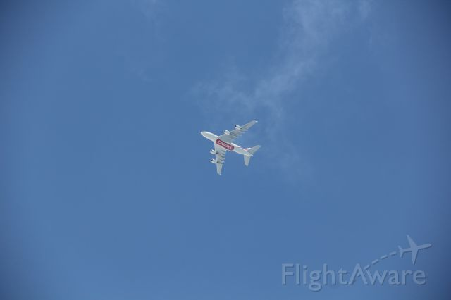 Airbus A380-800 (A6-EDM) - Descending into KJFK