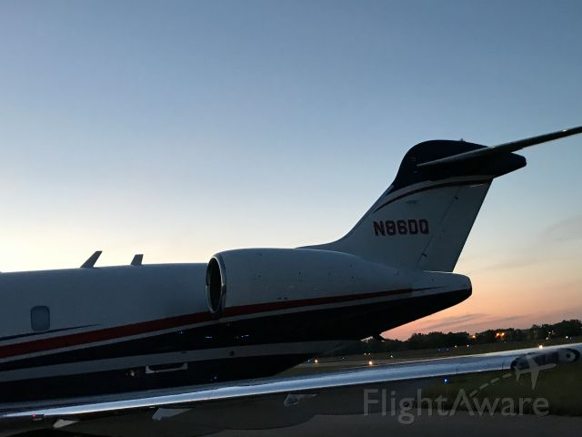 Hawker Beechcraft 4000 (N560MT) - At JXN