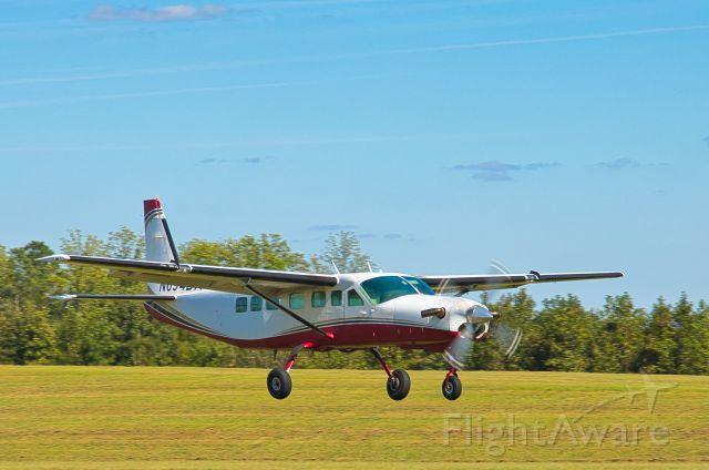 N694DA — - Cessna 208B  Caravan  landing yesterday.