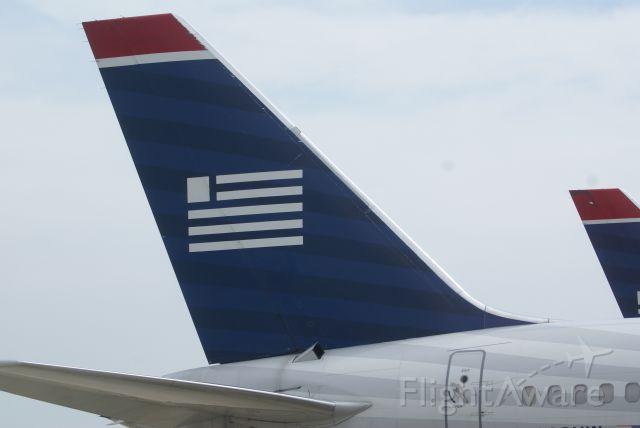 Boeing 757-200 (N202UW) - U.S. Airways 757 parked in PHL.