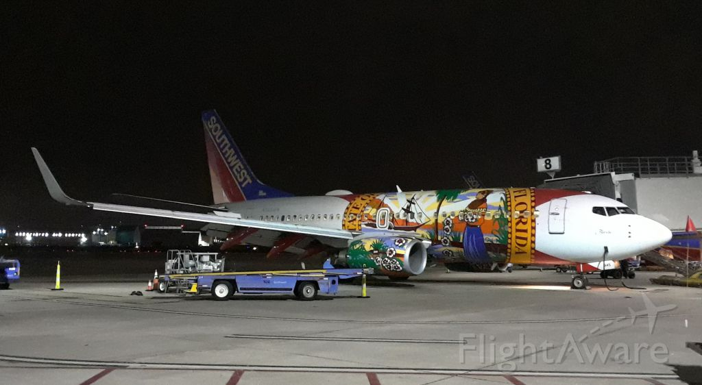 """Boeing 737-700 — - Southwest Airlines,""""Florida 1"""""""