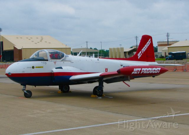 HUNTING PERCIVAL P-84 Jet Provost (N204JP) - At Barksdale Air Force Base.