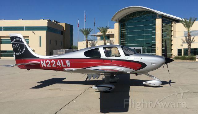 Cirrus SR-22 (N224LW) - KSBD (San Bernardino, CA)