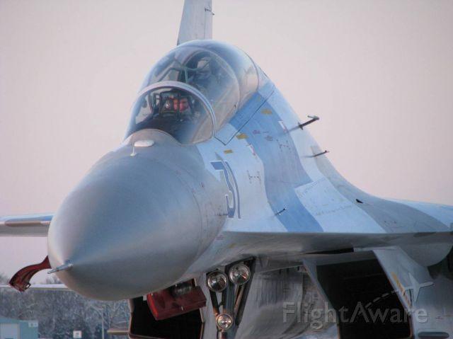 Sukhoi Su-27 Flanker (N131SU) - RFD based SU-27 Flanker after it