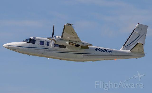 Gulfstream Aerospace Jetprop Commander (N980GR) - Gulfstream 695 climbs out of KVPZ.