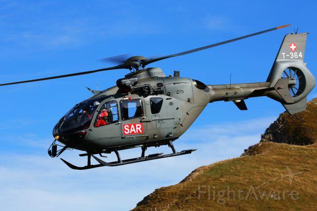 Eurocopter EC-635 (T364) - Axalp shooting range / CH