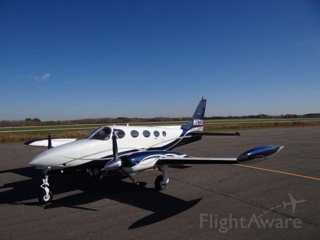 Cessna 340 (513D) - New paint