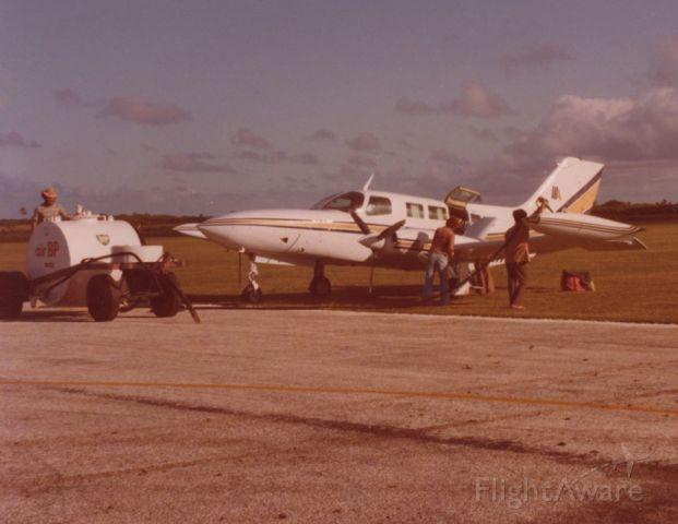 Cessna 402 (N33WT) - Tonga 1979
