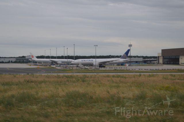 Boeing 777-200 — - Landing at FRA, July 2, 2016