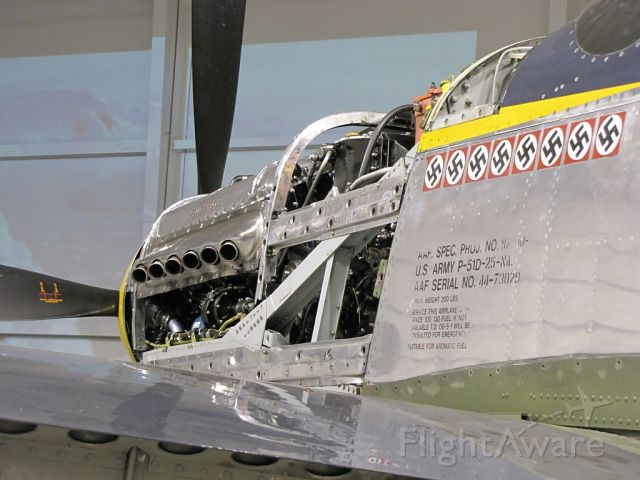 North American P-51 Mustang (N51JB) - P-51D Bald Eagle