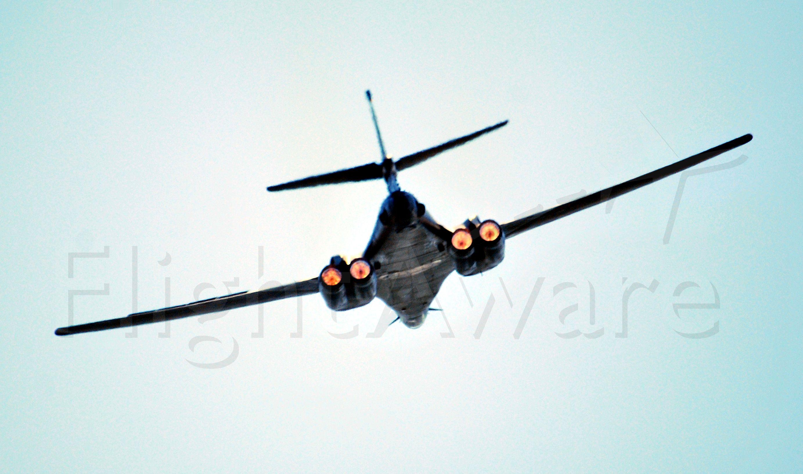 — — - B1 Flyover of Virginia Tech vs Marshall