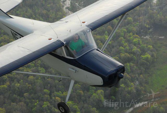 Cessna 170 — - 1950 Cessna 170 in flight.  Photo copyright: BlakeMathis.com