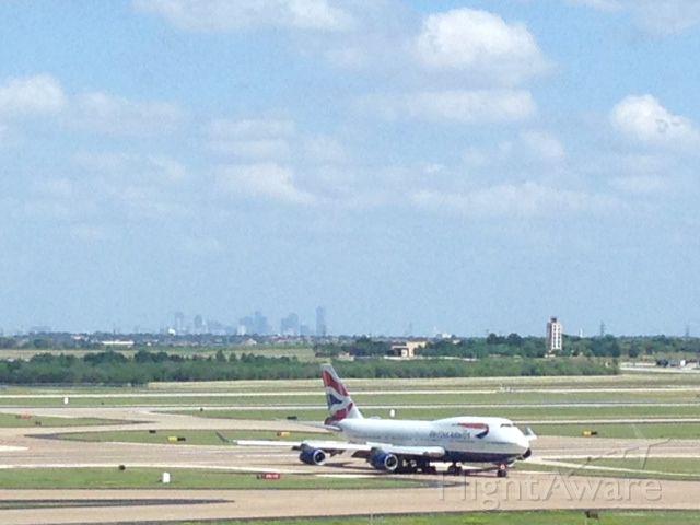Boeing 747-400 (G-BNLF) - British Airways arrival from EGLL