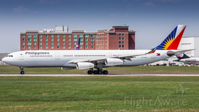 Airbus A340-300 (RP-C3438)