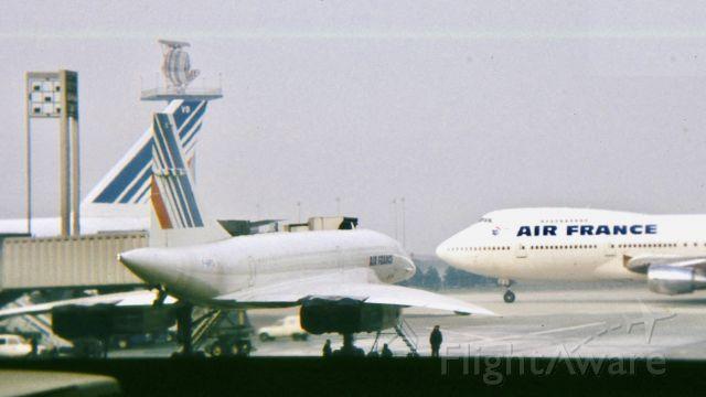 Aerospatiale Concorde — - Paris, Charles-de-Gaulle, janvier 1981