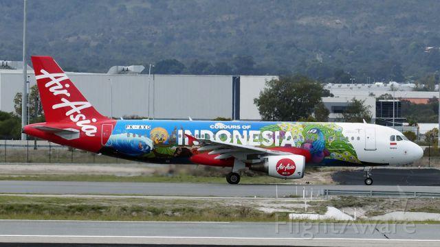 Airbus A320 (PK-AXD) - Airbus A30-216 AirAsia PK-AXD R03 YPPH 70718.