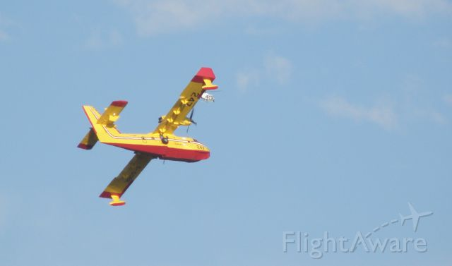 Piper Cherokee Arrow (N247) - Into the fire at Coyote Hills Fullerton.  From my home in Whittier.