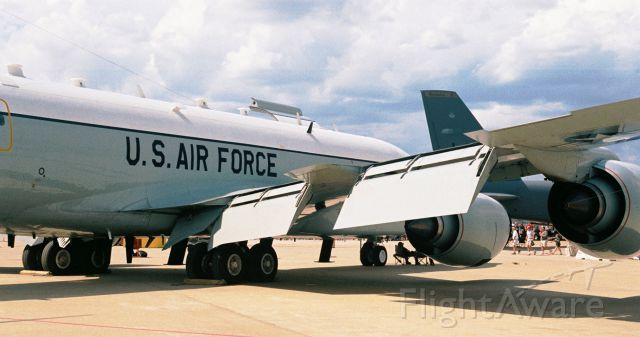 Boeing C-135B Stratolifter (64-4846) - USAF Boeing RC-135V, Rivet Joint, Ser. 64-14846, from 55th Wing, Offutt AFB, showing at the Barksdale AFB annual airshow in May 2005.