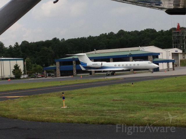 Gulfstream Aerospace Gulfstream V (N2929) - Taken from the cessna preparing for takeoff.