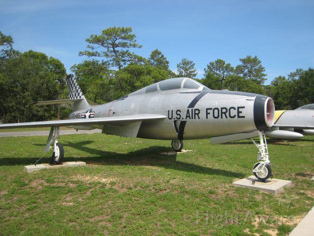 — — - F-84 Thunderstreak