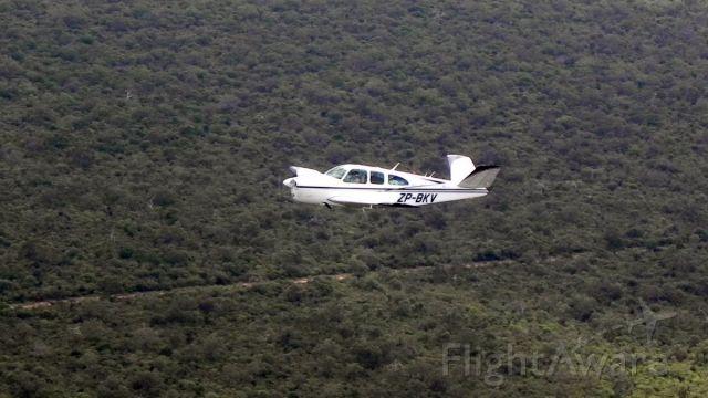 Beechcraft 35 Bonanza (ZP-BKV)