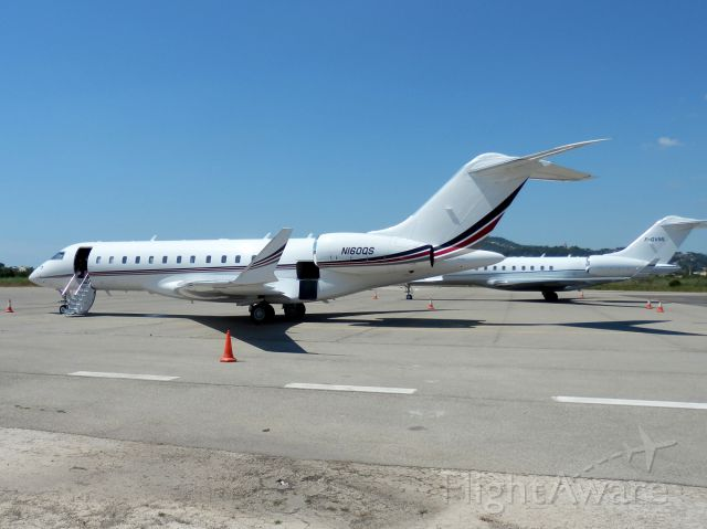 Bombardier Global Express (N160QS) - 14 aout 2013