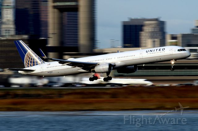 BOEING 757-300 (N57863) - UA 207 rotating off of 4R headed for San Francisco
