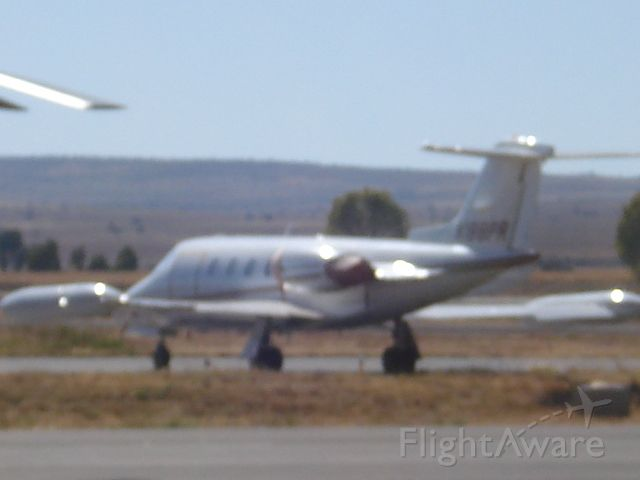 Learjet 25 (N188PR) - Parked in General Aviation of Zacatecas.   Not good quality but you can see