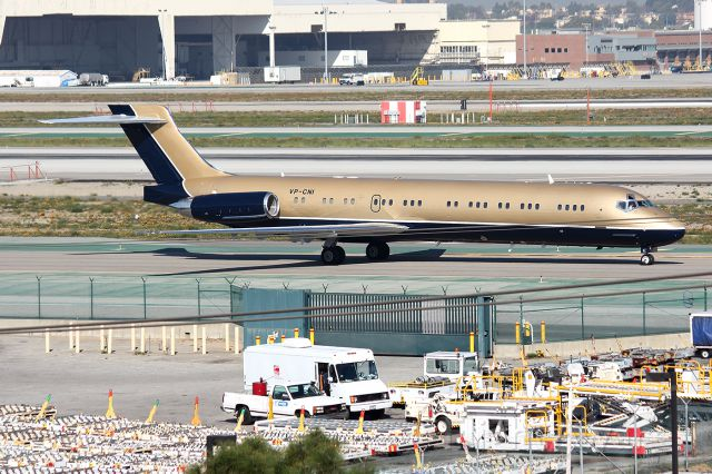 McDonnell Douglas MD-87 (VP-CNI) - My dream for bird !