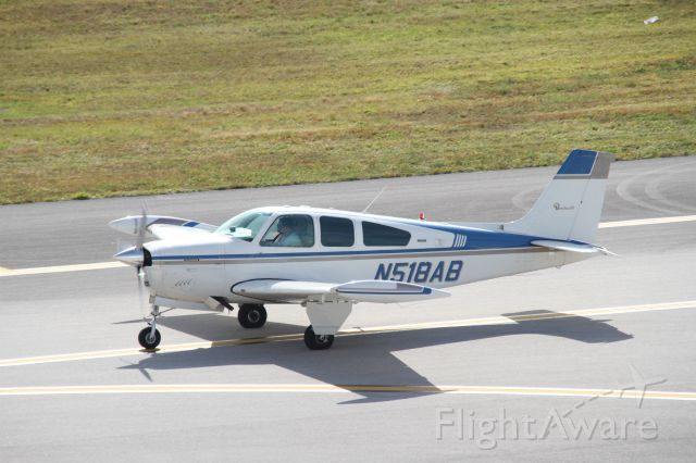 Beechcraft Bonanza (33) (N518AB)