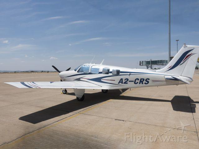 Beechcraft Bonanza (36) (A2-CRS) - 23 NOV 2017 at Gaborone airport, Botswana.